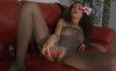 ePantyhose Land Annie Irresistible Babe Worships Sleek Nylon Fabric Before Pantyhose Masturbation ePantyhose Land