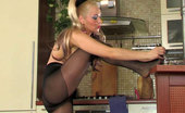 ePantyhose Land Gwendolen Booted Babe Tugs And Rips Her Fashion Hose To Wear Simple Control Top Ones ePantyhose Land