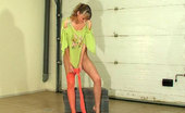 ePantyhose Land Helga Mischievous Nubile Girl Puts On And Worships Her Bright Colored Pantyhose ePantyhose Land