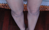 Nylon Feet Line Bessy Lovely Babe Takes Off Her Mules To Show Off And Suck Her Own Nyloned Toes Nylon Feet Line