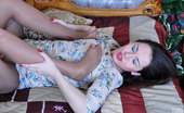 Nylon Feet Line Crystal & Becca Sapphic Girls Worship Nyloned Feet With Painted Toenails And Foot Rub Slits Nylon Feet Line
