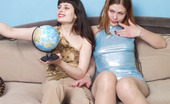 Pantyhose 1 Vivian & Stella Hot Gal Muffdiving Longing To Pull Down Pantyhose And Stuff Strap-On Inside Pantyhose 1