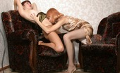 Pantyhose 1 Polina & Elena Hot Babe Licking Her Way From Hard Nipples To Delicious Snatch Clad In Hose Pantyhose 1