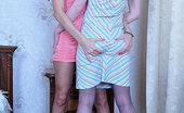 Pantyhose 1 Ambrose Kissing Lezzies Strip Off To Make The Most Of Their Open Crotch Pantyhose Pantyhose 1
