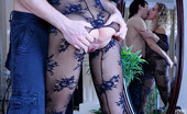 Pantyhose Line Barbara & Rolf Cock-Hungry Babe Gets Banged Nice And Hard In Her Sultry Nylon Bodystocking Pantyhose Line