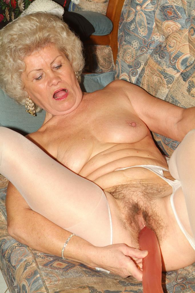 Grannys Using Giant Dildos 117