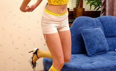 She Is An Angel Cute Teen Hally Gets Rid Of Her Girlie Undies She Is An Angel