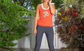Cosmid.net Jessica Moroz Jessica Doing A Stretch Cosmid.net