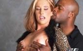 VIP Interracial Slender Blonde Eats Black Cock Stunning Green-Eyed Teen Has Her Tight Pussy Ravaged By An Ebony Stud VIP Interracial
