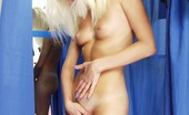 Voyeur Realm Juicy Nude Doll Puts Sexy Stockings On Voyeur Realm