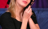 Voyeur Realm Blonde Tries On Panties On Spy Cam Voyeur Realm