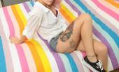 UK Teaze Rachael Rachael In Purple Panties And Jean Shorts UK Teaze