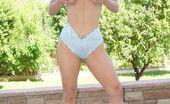 Outdoor Pornstars Chantz Fortune Chantz Fortune Strips Naked And Shows Off Her Huge Melons Outdoor Pornstars