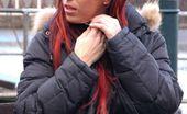 Outdoor Pornstars 570936 Ashley Robbins Ashley Robbins Masturbating On A Public Park Bench Outdoor Pornstars