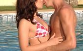 Outdoor Pornstars Renee Richards Renee Richards Gets Her Wet Pussy Plowed Poolside Outdoor Pornstars
