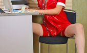 Planet High Heels 571463 FF Stockings, Killer Red High Heels And Nurse Uniform! Planet High Heels