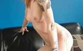 Montreal Dream Young Slut Stripping On The Sofa