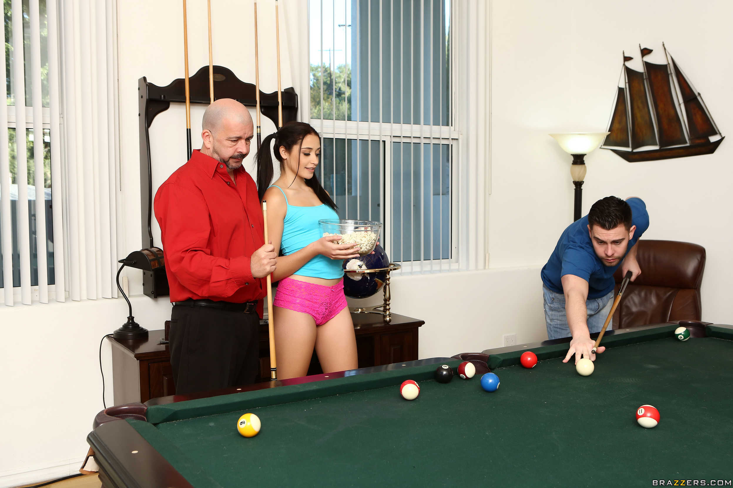 Sweetie Avi Love Is Melting Seth Gamble's Heart 608096 Teen Chick Pussy Gets Rammed On Snooker Table