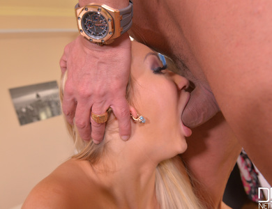 Deep Sleeping Blonde Lara Onyx Got Woke Up By Her Horny Boyfriend Marco Banderas 608103 Slut Gag Until He Dump Litres Of Cum Right Into Her Mouth