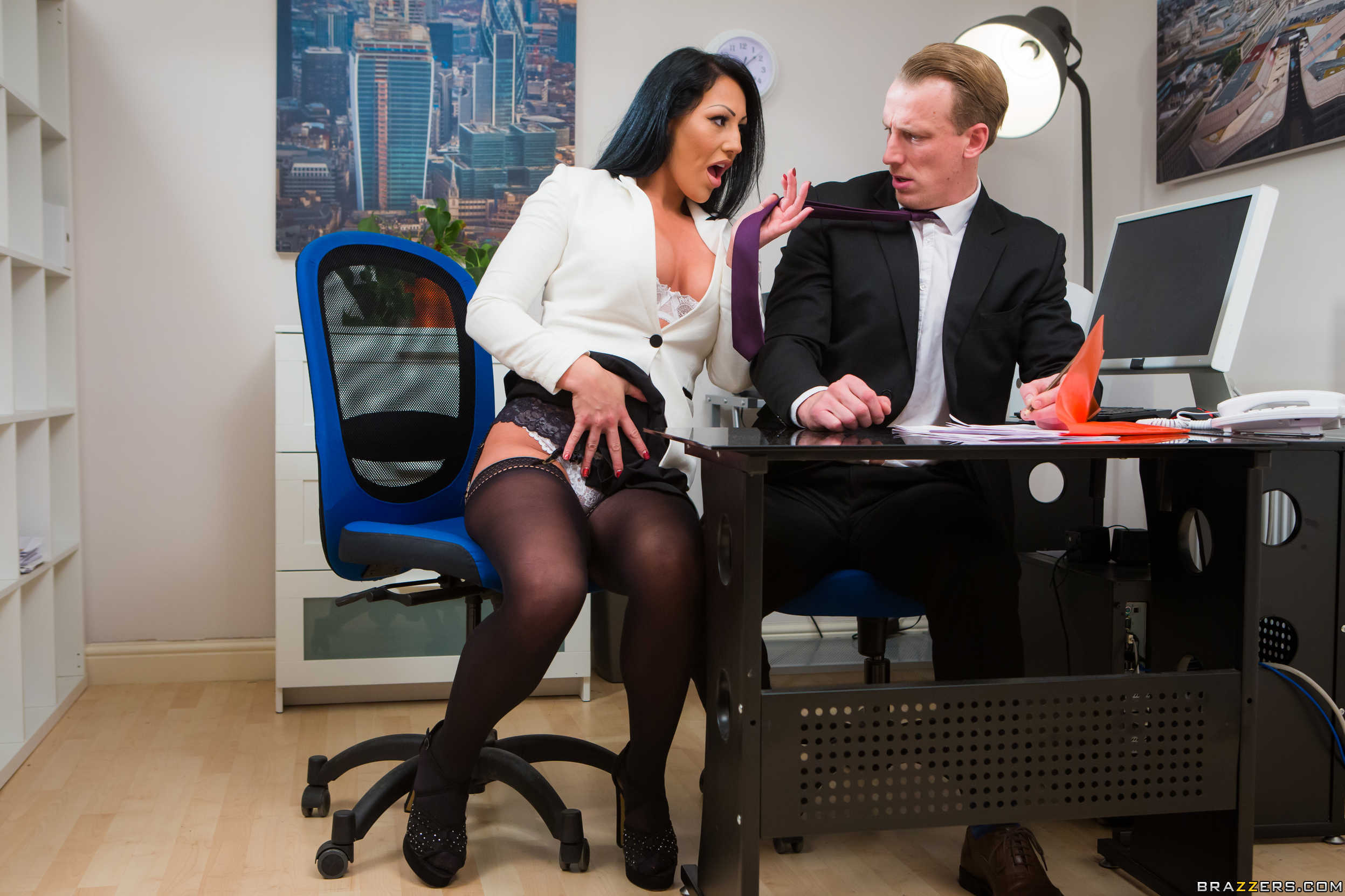 Candi Kayne A Teen Secretary Showing Nice Cleavage To Coworker Luke Hardy 608106 Office Receptionist With Shaved Vagina Wild Sex With Employer Get Caught