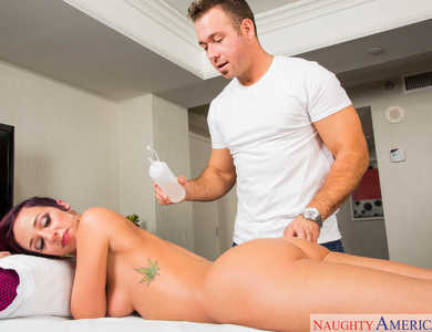 Bombshell Jada Stevens Gets Oily Massage 608134 Round Ass Hottie Sucking Therapist Cock Like No Tomorrow