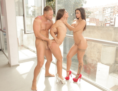 Julia Roca And Susy Gala Two Bombshells With Asses 608136 Nacho Vidal Did A Good Job Of Knockout Two Fine Pussies
