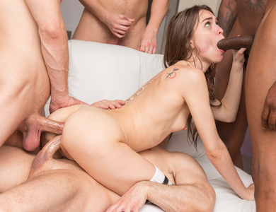 Lovely Riley Reid Conquering Alot Of Cocks 608138 Cute Teen Slut In An Awesome Gangbang