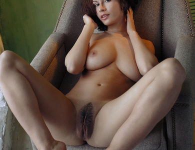 Pammie Lee Teasing Her Close Up Pussy 608139 Pretty Brunette Spreads Leg And Shows Off Naked Body