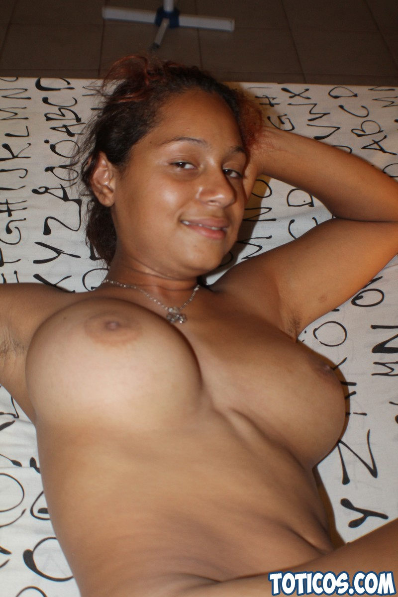 Busty dominican babe fucking