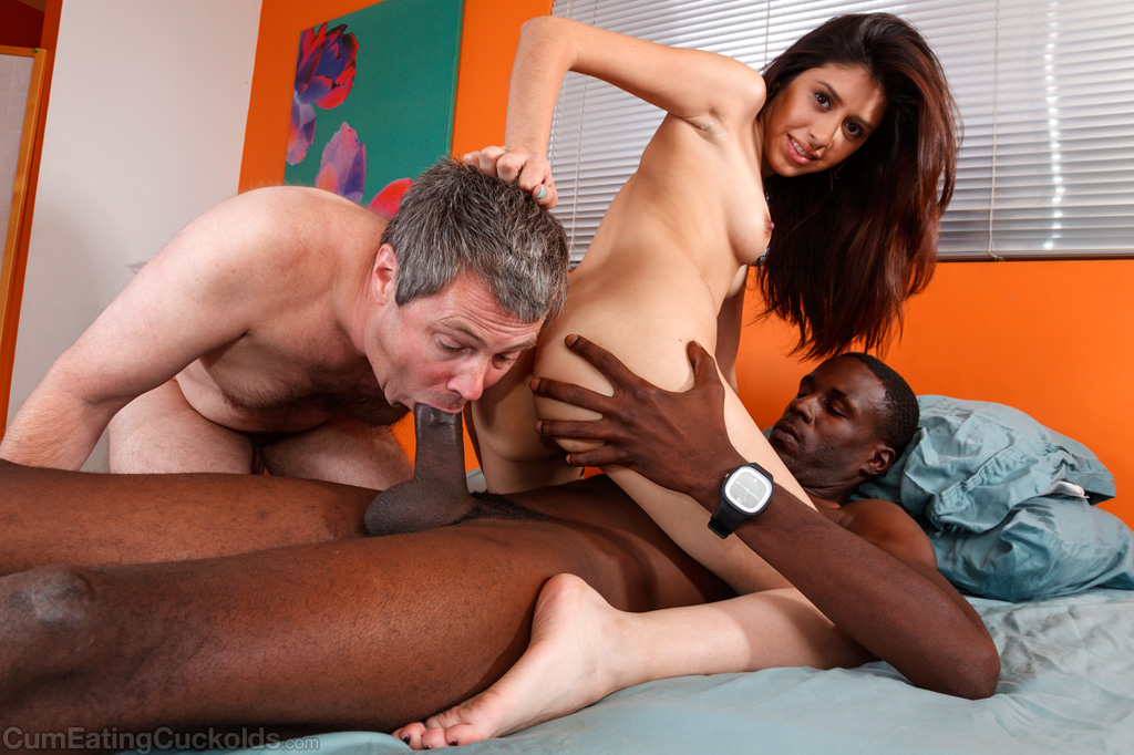 Slutwife Sucks A Big Black Cock While Hubby Images Interracial Cuckold