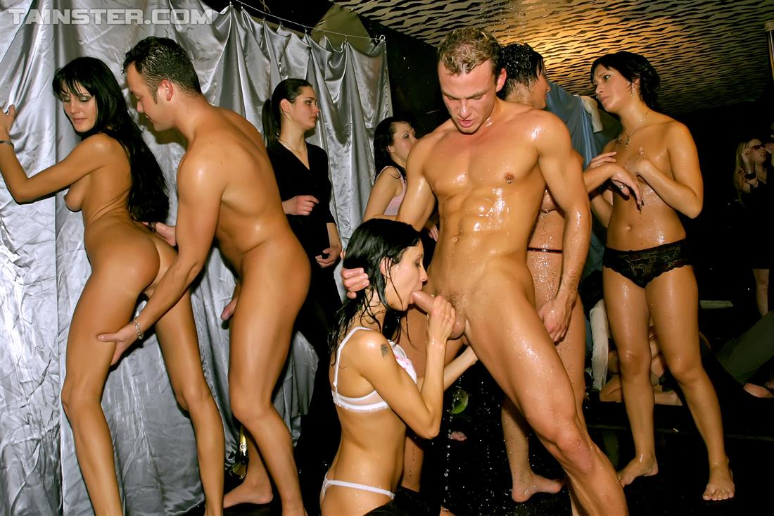Drunk Party Orgy