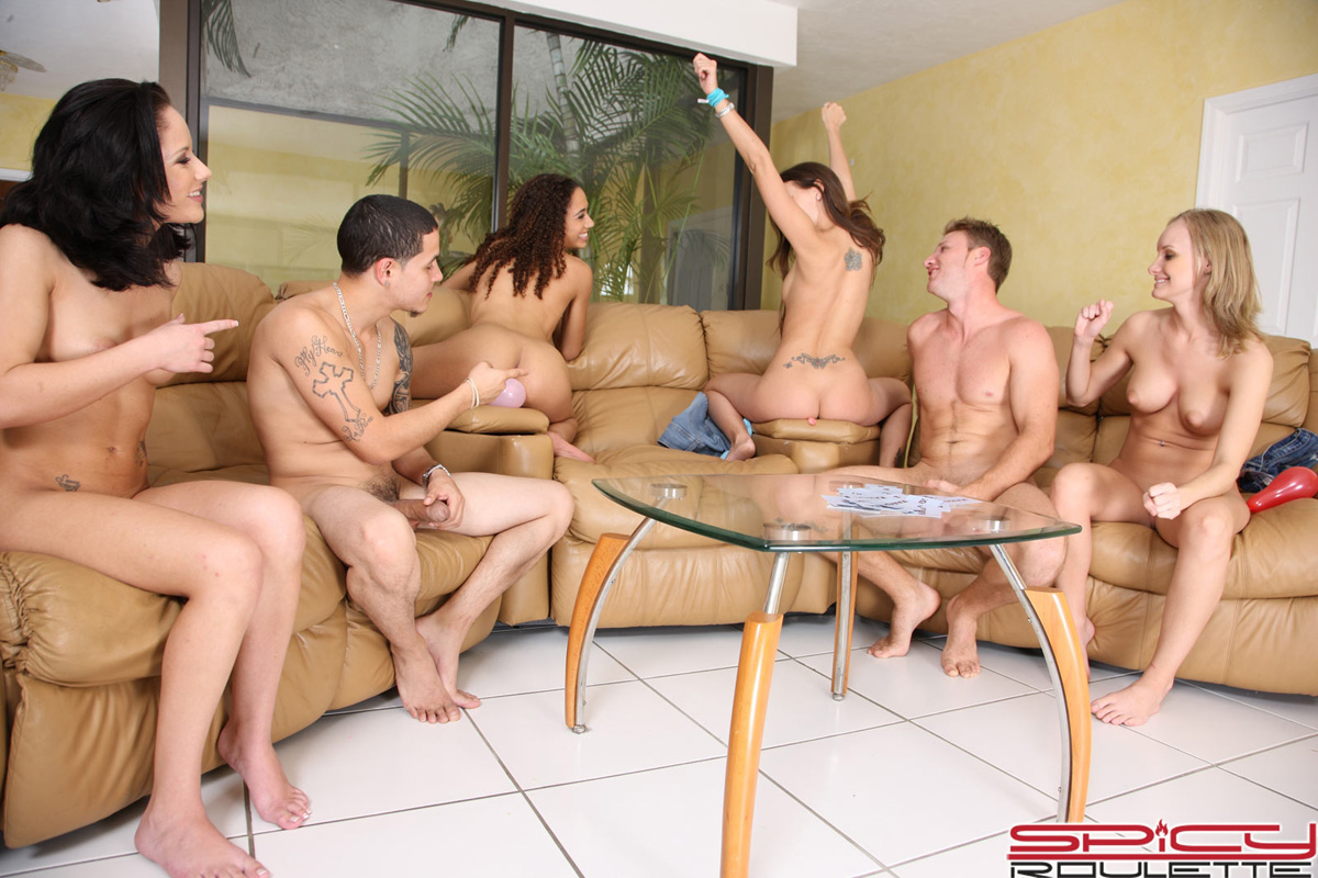 Alessandra Loses A Naughty, Hardcore Game Of Strip Poker