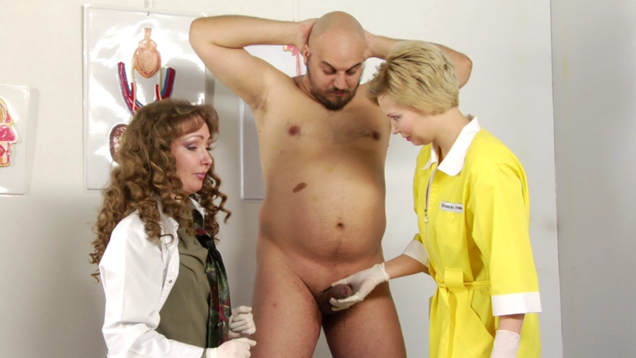 Médica Paja Porn Tube medical femdom medical femdom experiments with a subdued