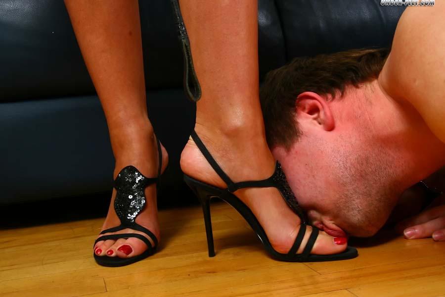 Foot fetish foot slave