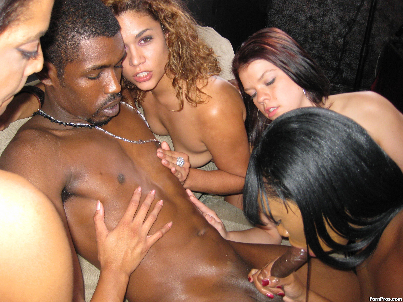 Black ebony strippers orgy