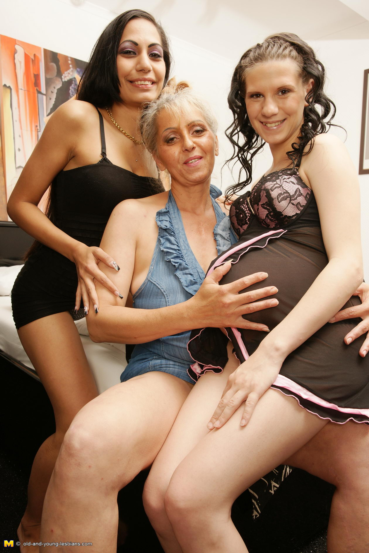 Oldandyoung Lesbian Porn old and young lesbian two old and young lesbians have fun