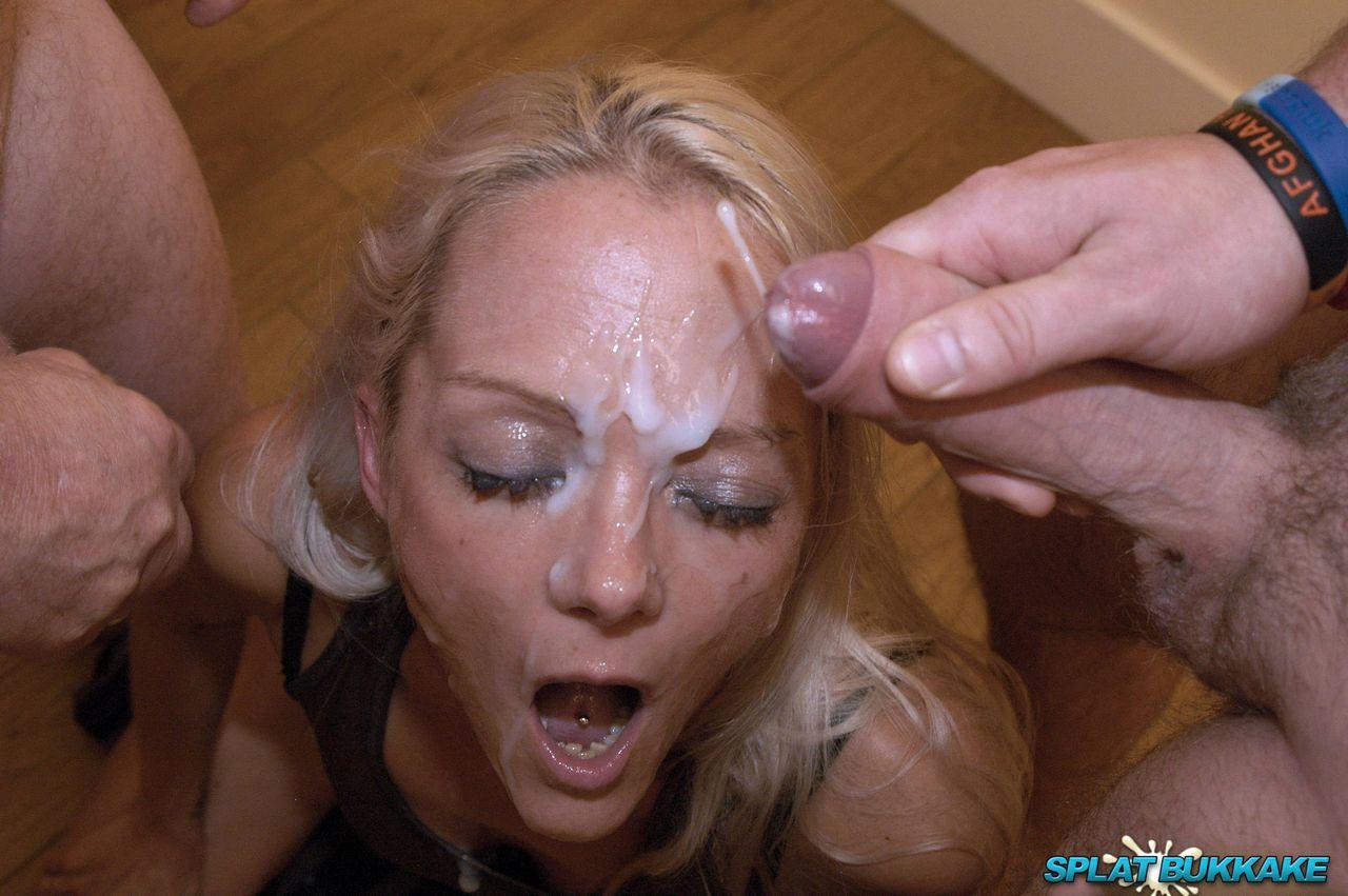 Anne Izzy Leila Sonja Sonya Porn splat bukkake british blonde layla enjoys facials in a