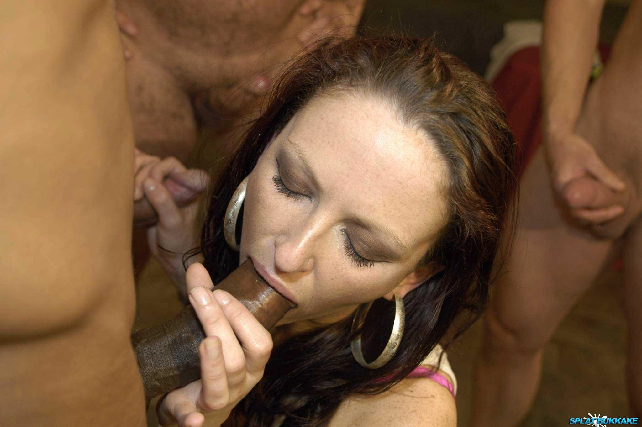 Amateur Bukkake Porn splat bukkake english amateur gets debut facials 449409