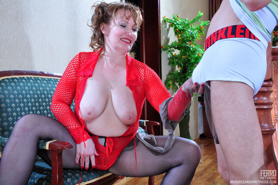 Loved moms matures and pantyhose my