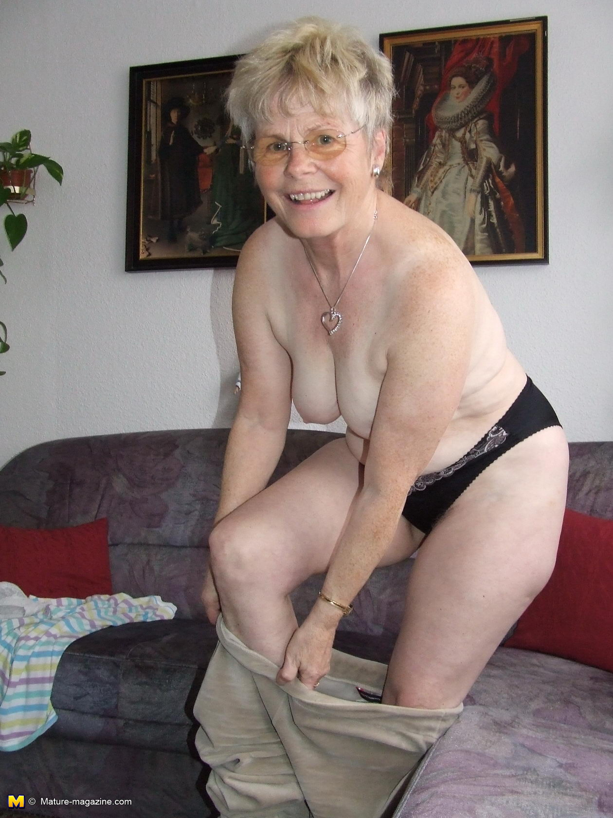 Older Lady In Nature Large Stocking Porn Outdoor Cornellia mature magazine naughty older lady showing off her naked